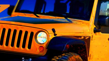 Jeep Wrangler J7 design sketch - 15.02.2010