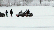 McLaren P11 winter testing spy photo