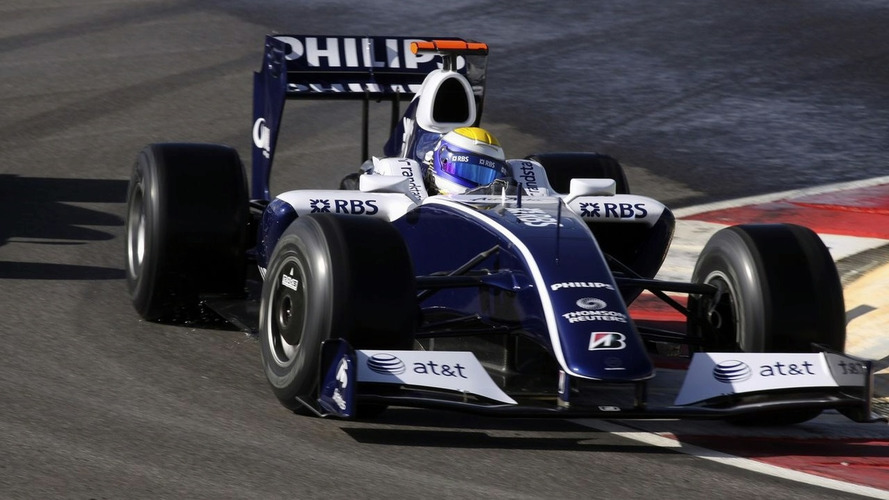 Photo leak reveals Williams 2009 final livery