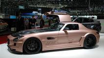 HAMANN HAWK based on Mercedes SLS AMG live in Geneva, 673 - 02.03.2011