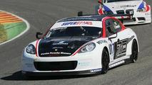 Porsche Panamera racecar victorious on debut