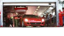 Michael Schumacher with Ferrari 599 GTB HGTE
