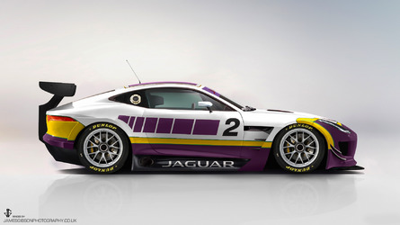 Jaguar Is building An F-Type GT4 Race Car