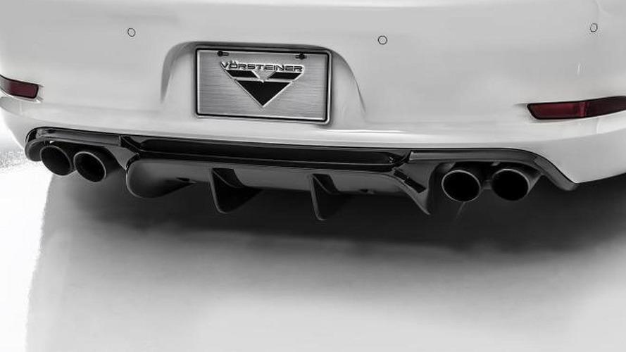 Porsche 911 (991) gets aero kit from Vorsteiner [video]