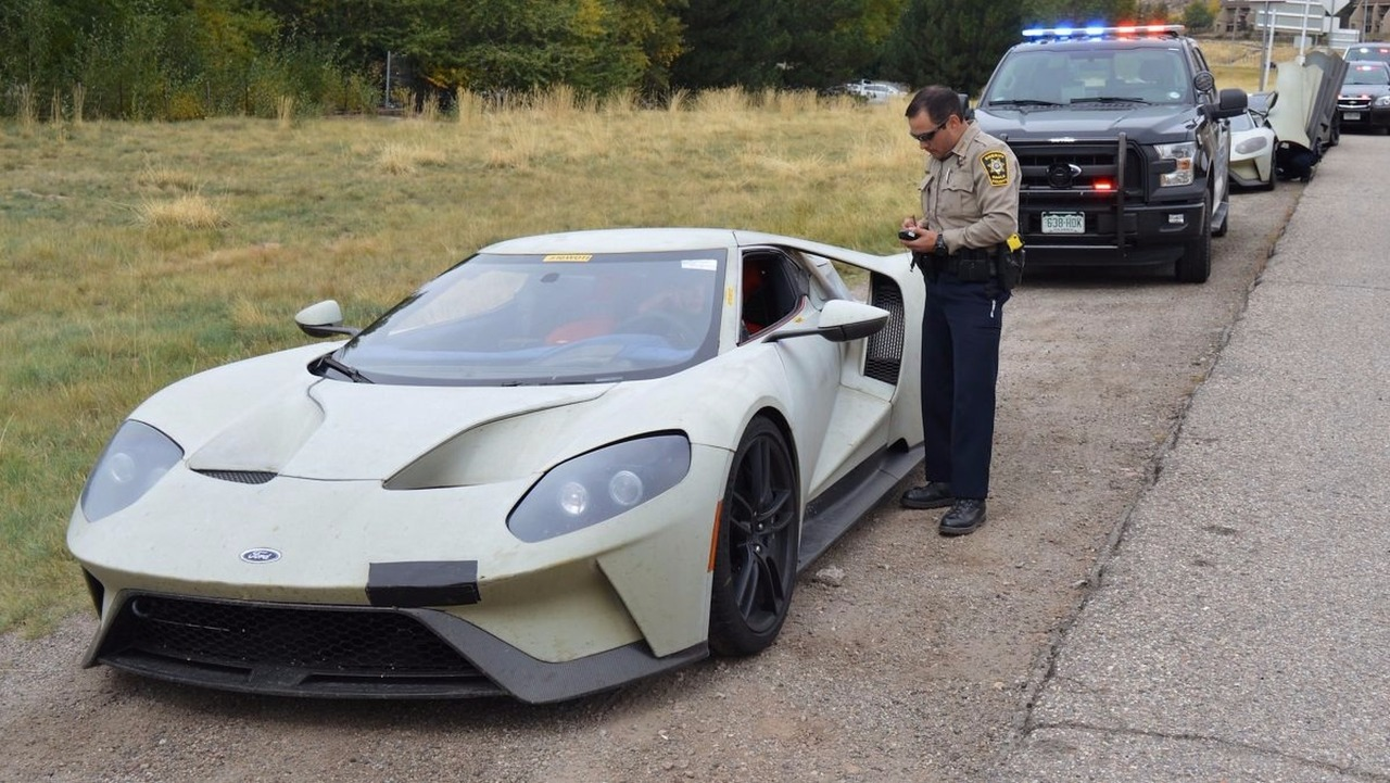 Ford GT prototypes ticketed - 2