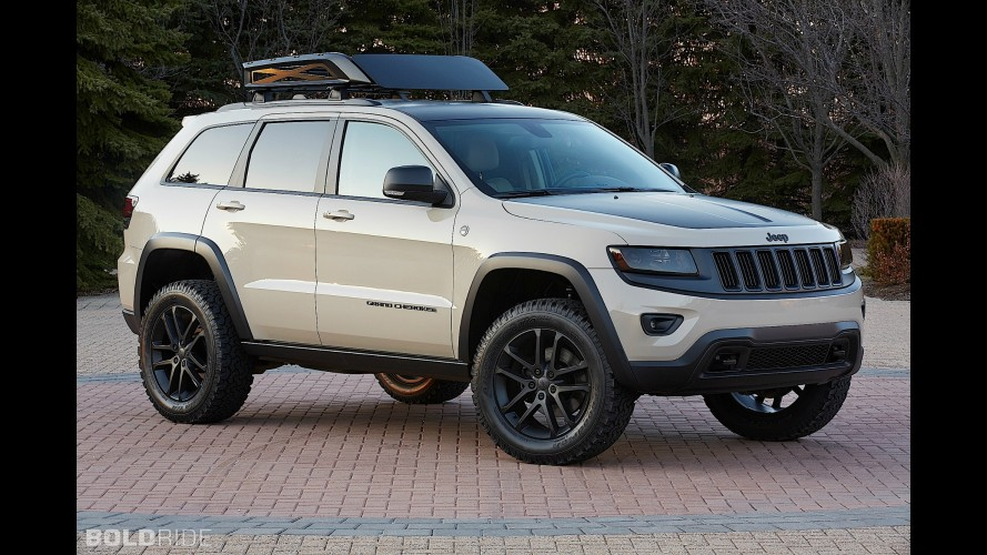 Jeep Grand Cherokee EcoDiesel Trail Warrior Concept