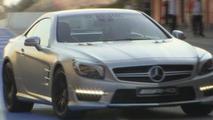 2013 Mercedes-Benz SL63 AMG revealed [video]