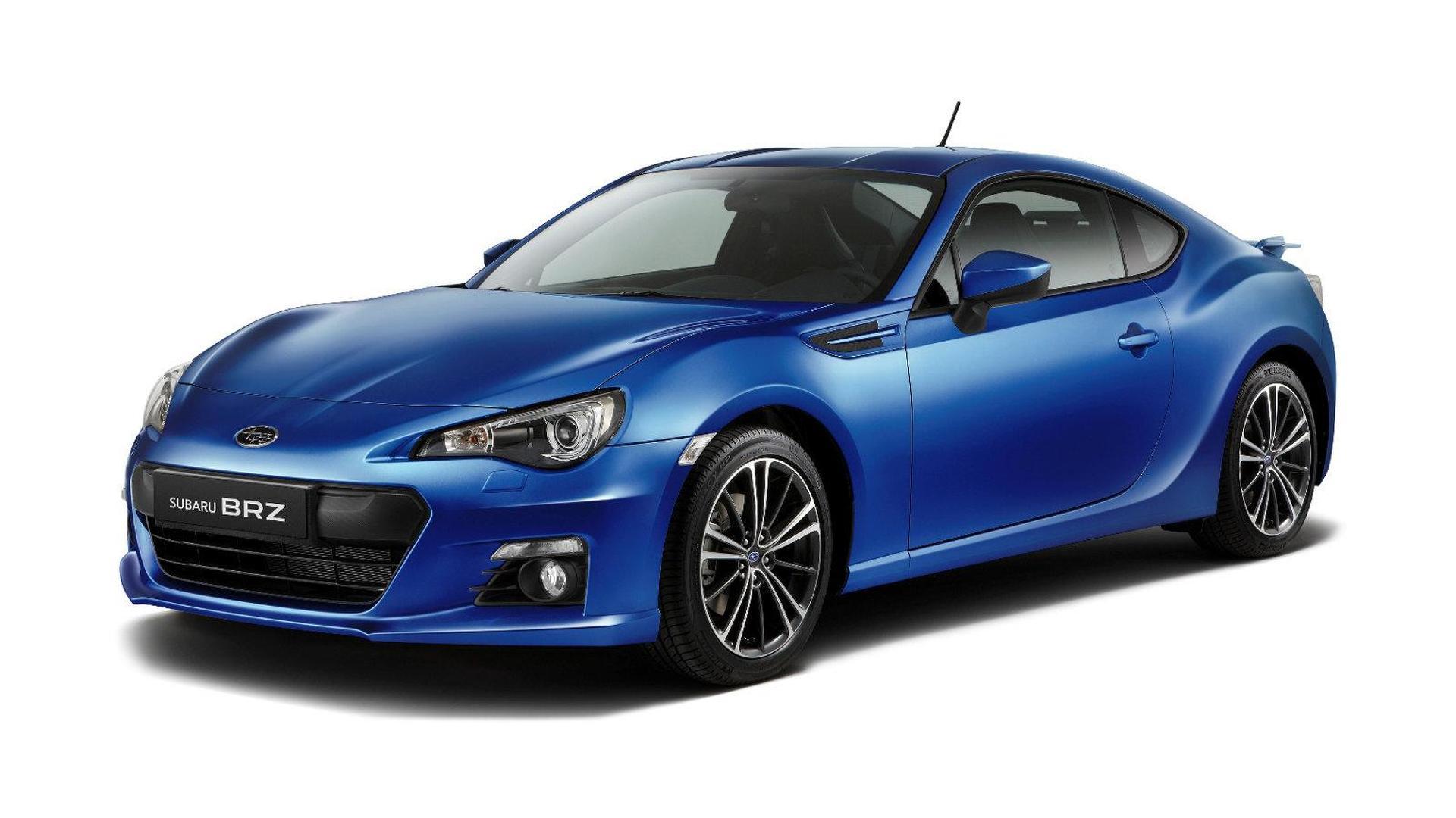 Subaru announces Euro-spec BRZ and Impreza 5-door for Geneva