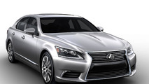2013 Lexus LS 460 F-Sport official images leaked