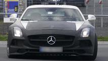 Mercedes SLS AMG Black Series spy photo 10.10.2012