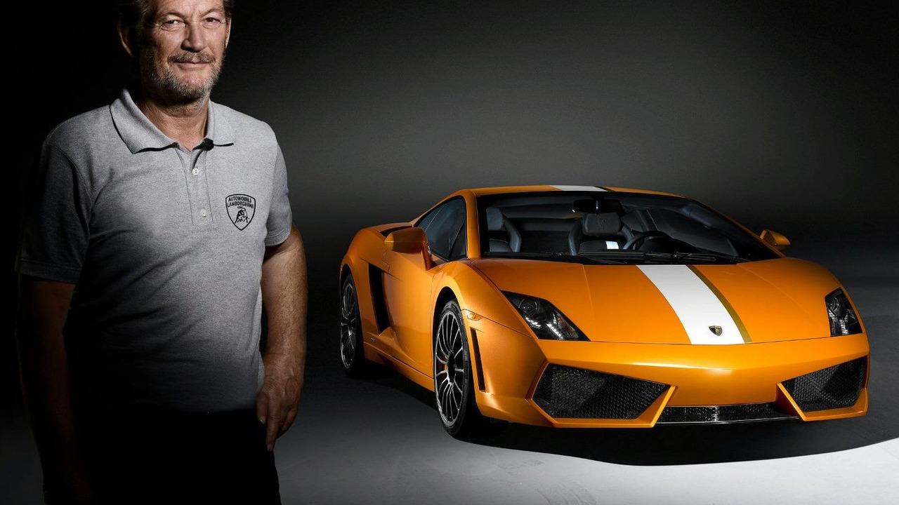 Valentino Balboni and the Lamborghini Gallardo LP 550-2 Valentino Balboni