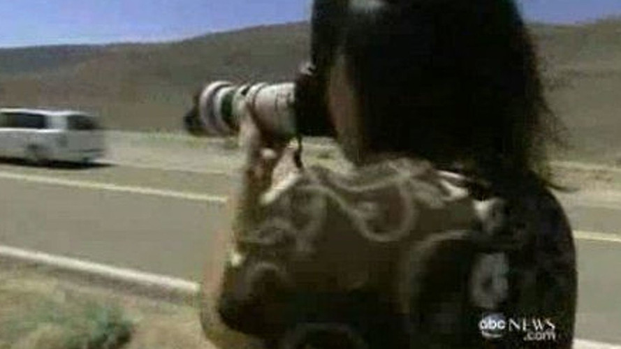 Spy Photographer Brenda Priddy featured on American TV News program