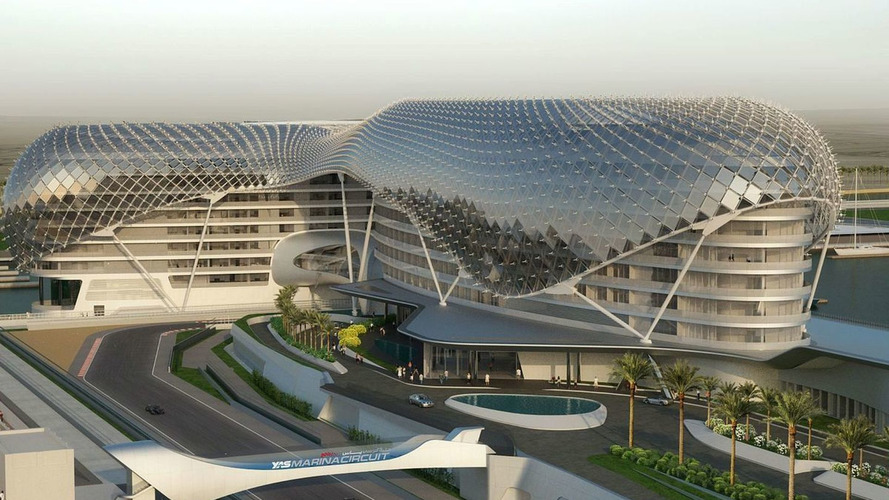 Unique Abu Dhabi track hotel full for F1 weekend