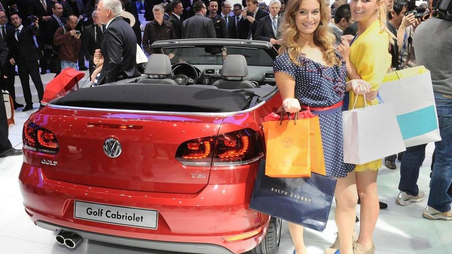 Volkswagen Golf Cabriolet unveiled - Geneva Show