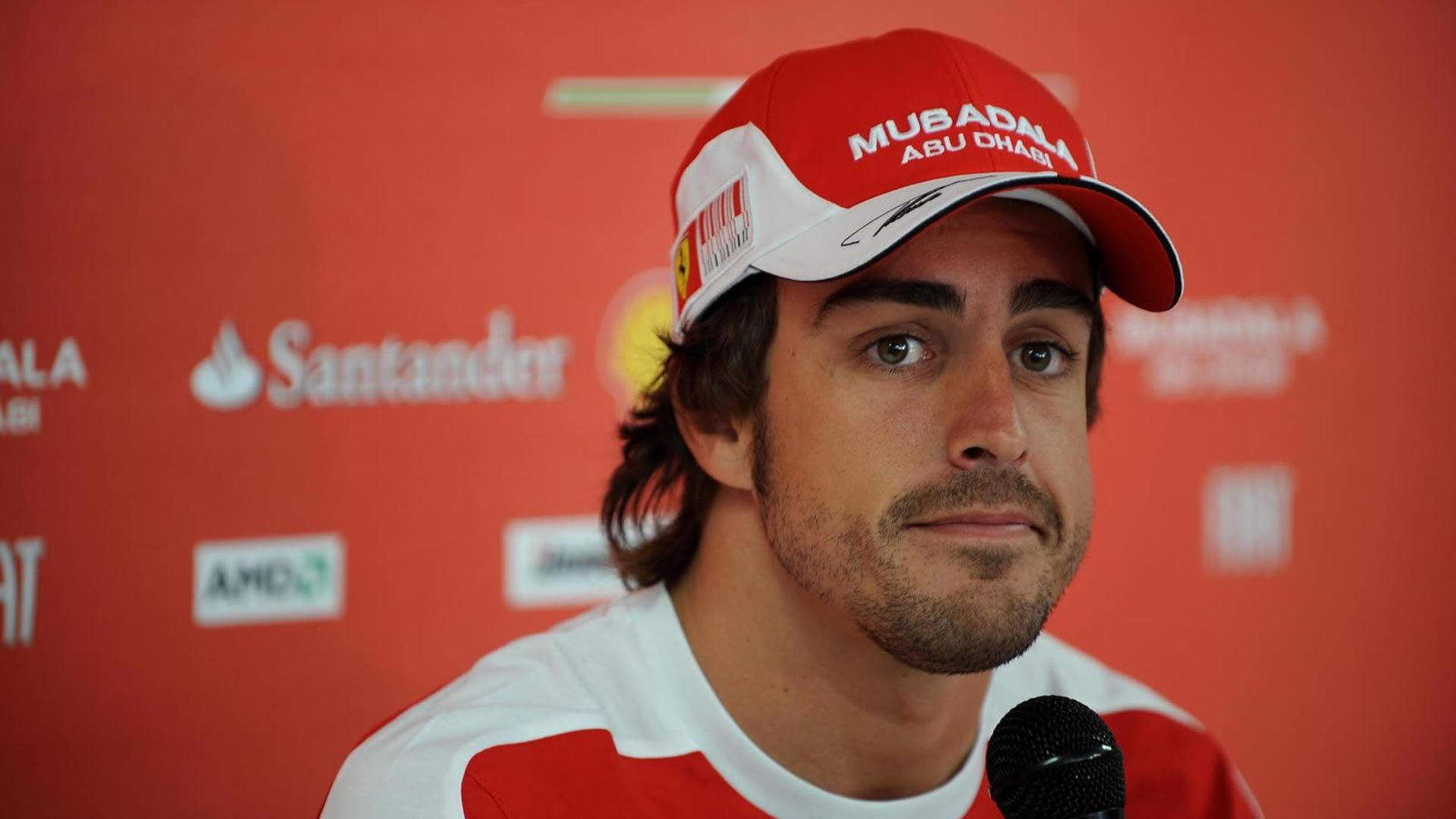 Alonso not expecting to win title in Brazil