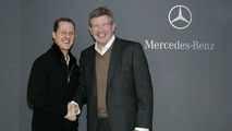 Schumacher not sacked 'because we know him' - Brawn