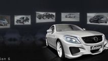Lorinser previews Mercedes-Benz S-Class wide body kit