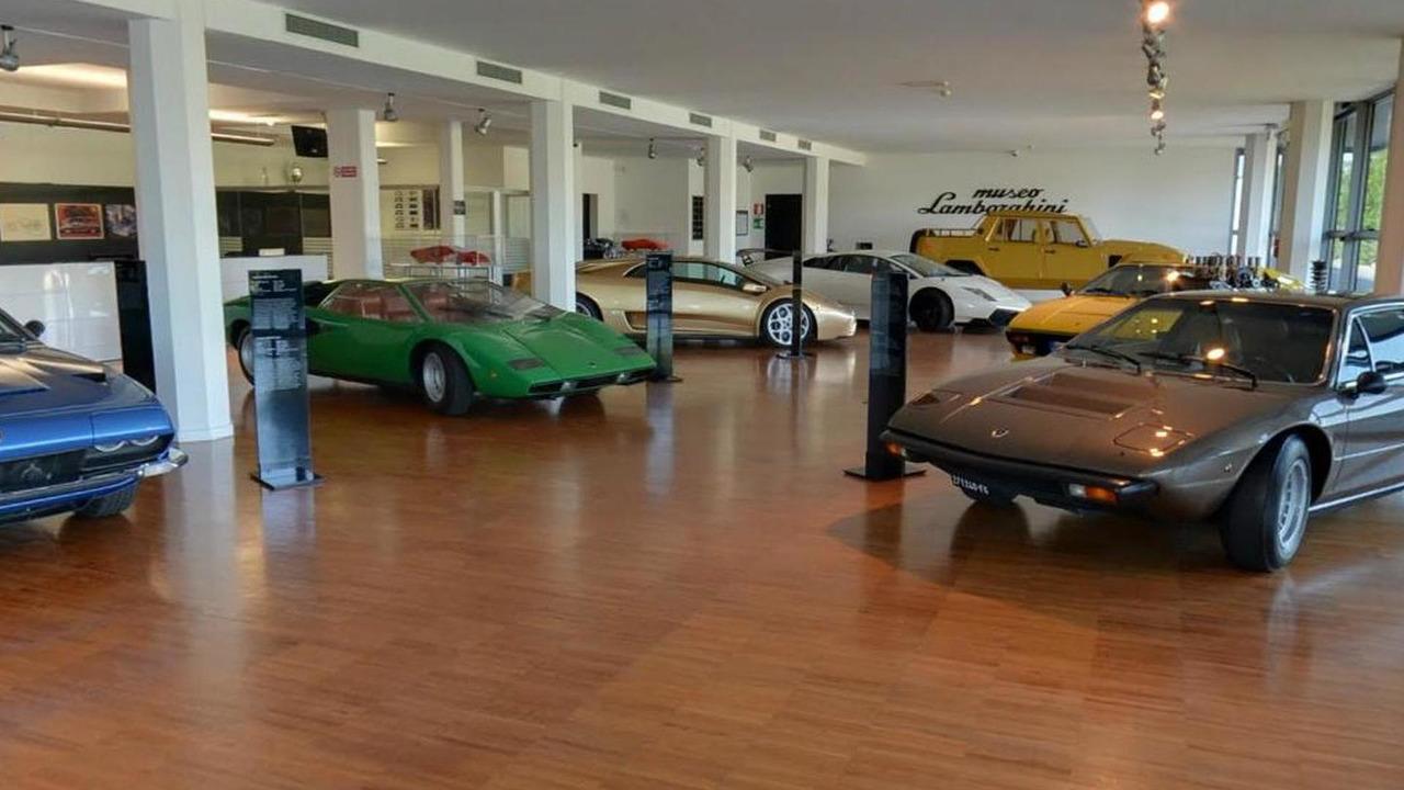 Lamborghini Museum on Google Maps 09.10.2013