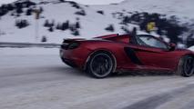 McLaren 12C Spider at Loveland Pass 20.3.2013