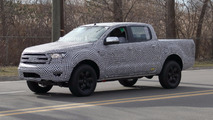 Ford Ranger Spy Photos