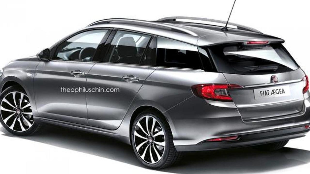 Fiat Aegea wagon render