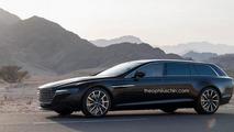 Aston Martin Lagonda Shooting Brake digitally imagined