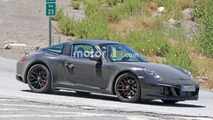 Porsche 911 Targa GTS Facelift Spy Shots