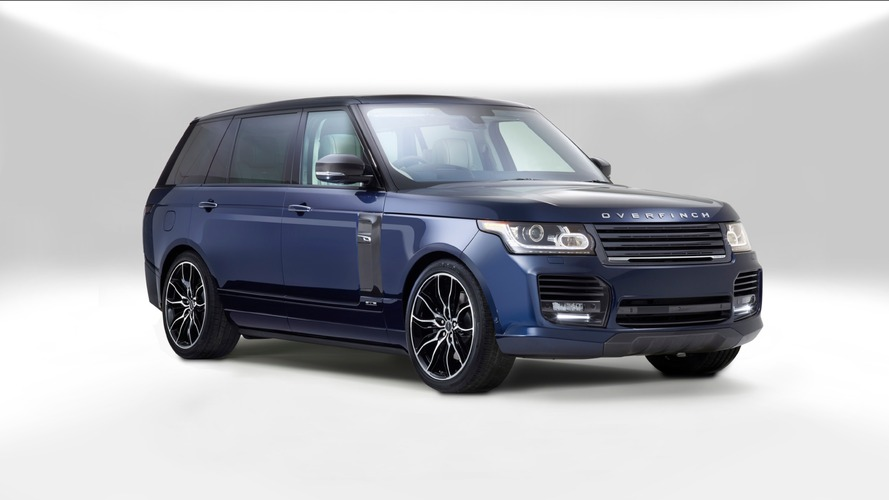 Manhattan and London edition Range Rovers by Overfinch cost $300k