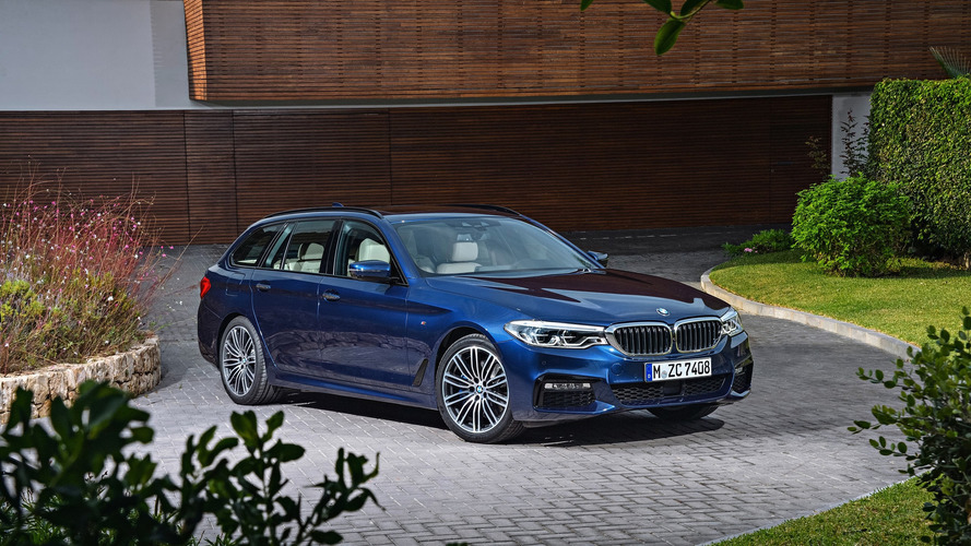 2017 BMW 5 Series Touring wants to be the ultimate family hauler