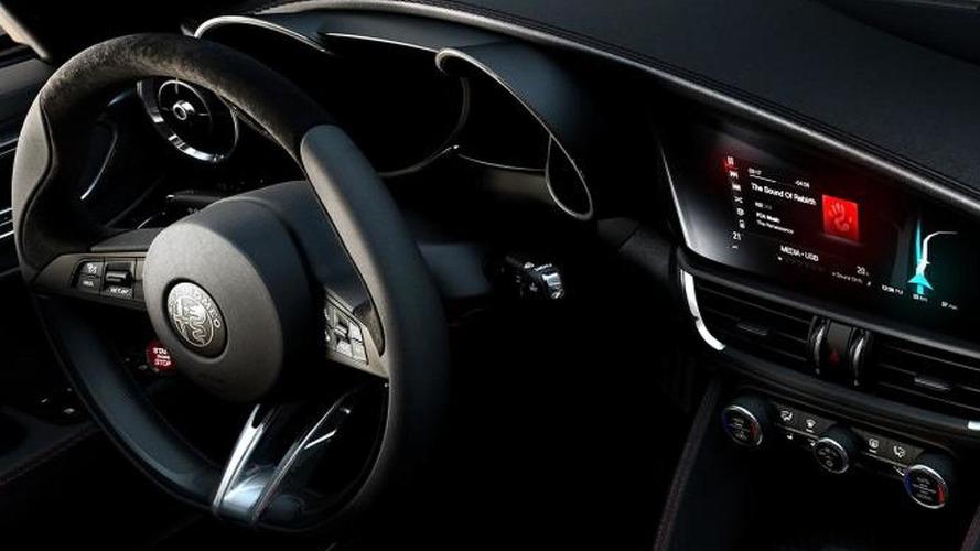 Alfa Romeo details Giulia Quadrifoglio design, reveals interior in new images and video