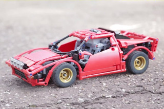 Watch this LEGO Lancia Stratos Rally like It's 1975