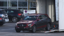Mercedes GLC spied with minimal disguise