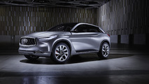 Infiniti QX Sport Inspiration concept gets detailed