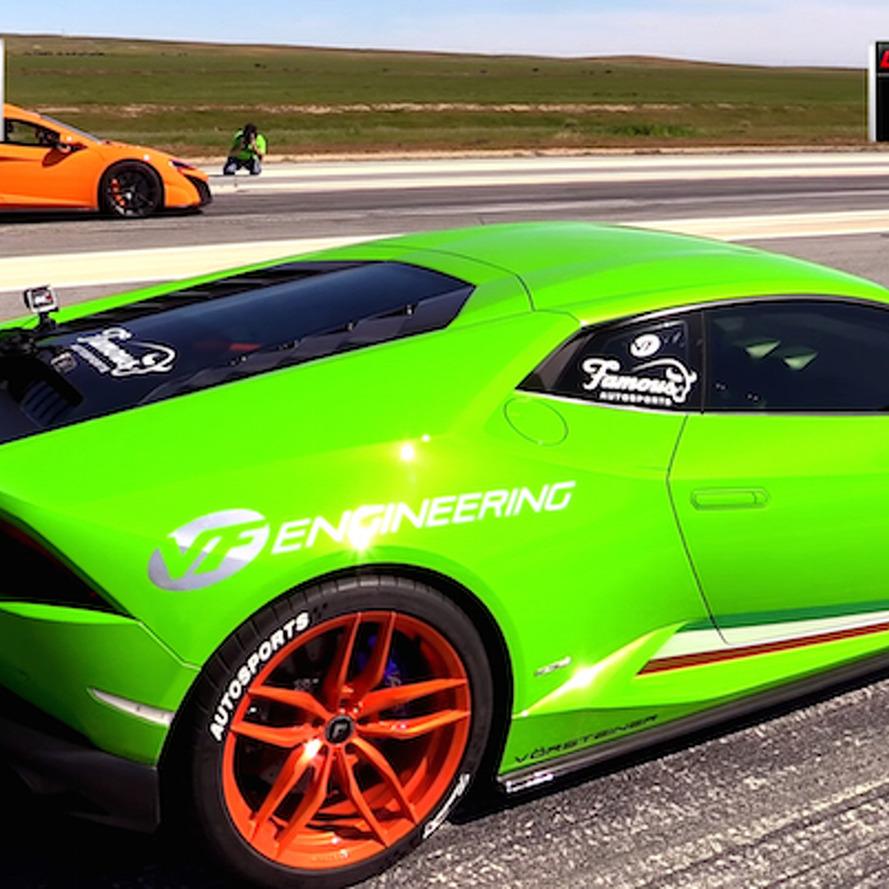 Supercar Showdown: McLaren 675LT vs Lamborghini Huracan