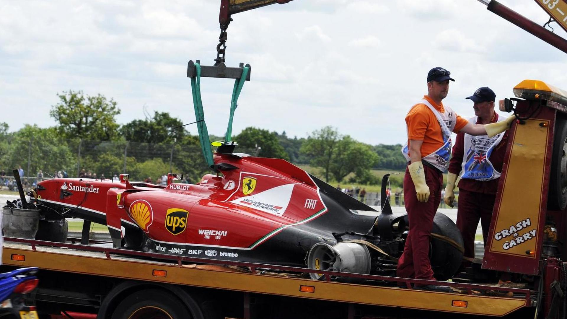 Lauda slams 'balls out' Raikkonen for Brit GP crash