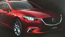 Mazda6 / Atenza subtle facelift leaks out