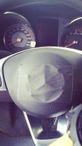 2015 Mercedes C63 AMG leaked interior photo