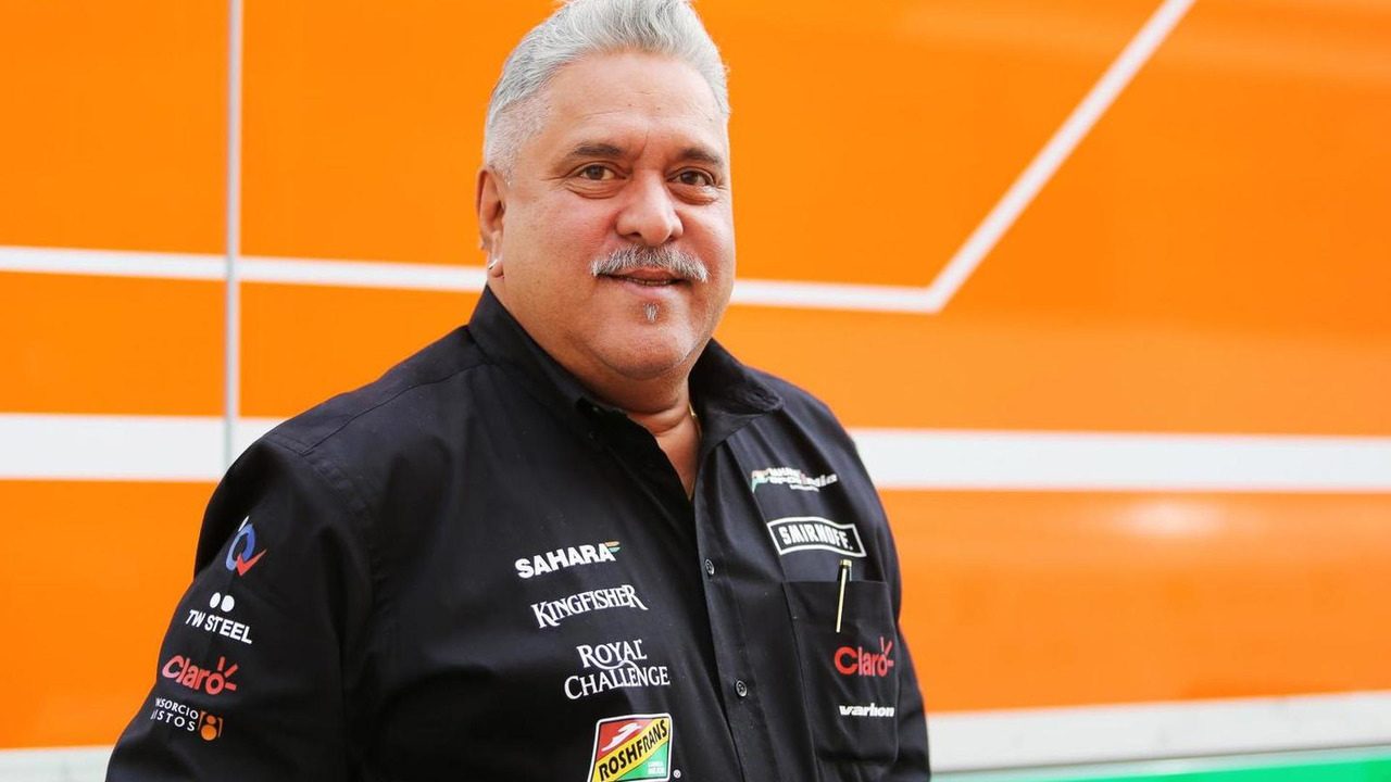 Dr. Vijay Mallya Sahara Force India F1 Team Owner 10.05.2014 Spanish Grand Prix
