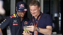 Daniel Ricciardo, Red Bull Racing with David Coulthard, Red Bull Racing and Scuderia Toro Advisor / BBC Television Commentator