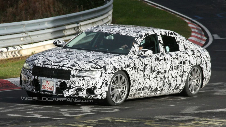 Audi A8 Prototype Hits the Ring