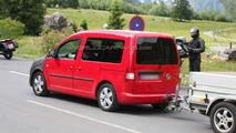 VW Caddy facelift first spy photos