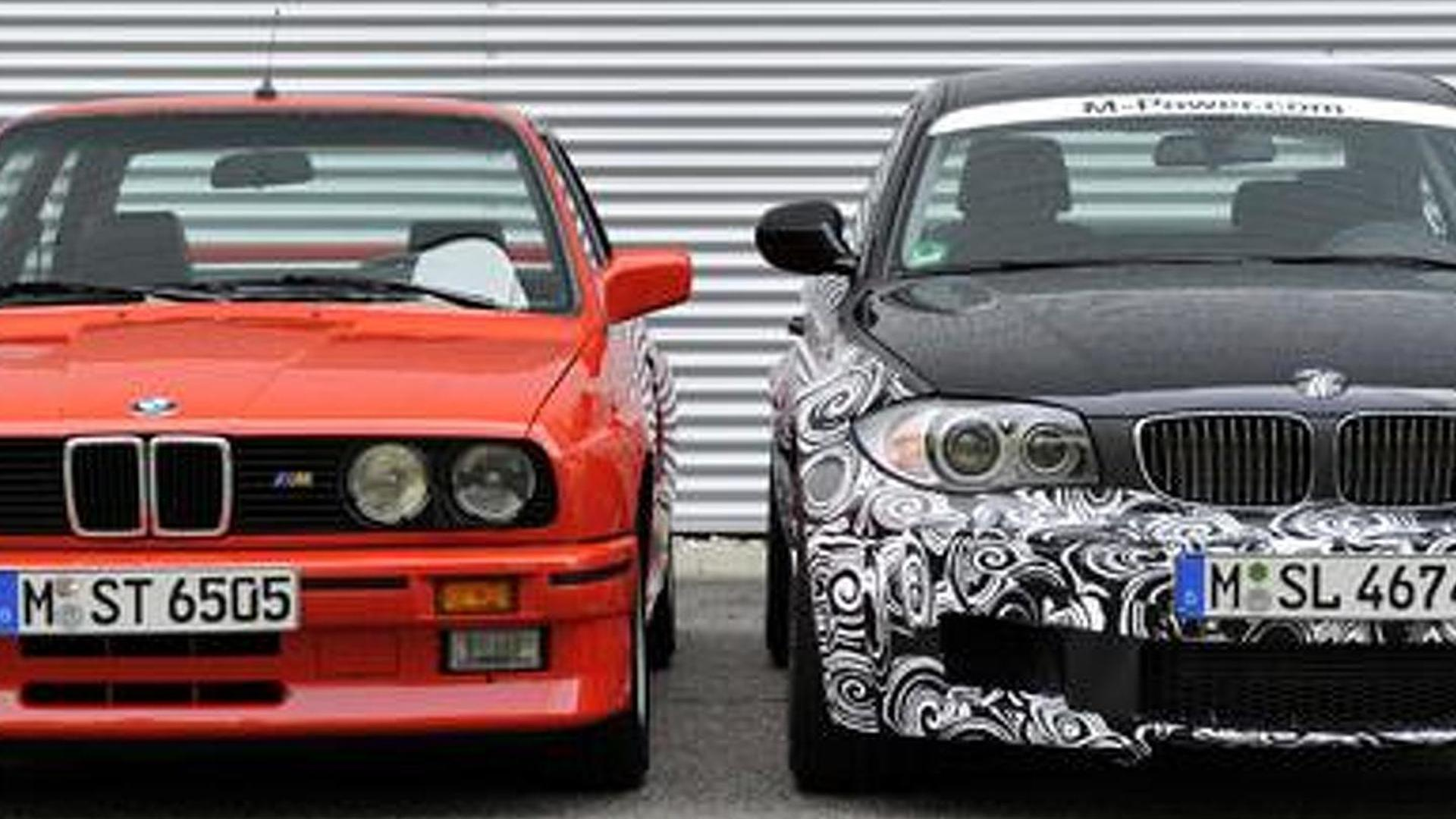 BMW 1-Series M Coupe - new details released