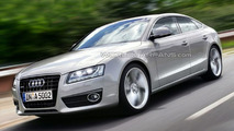 Audi A5 Sportback Artists Rendering