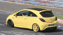 Opel Corsa OPC Nurburgring Edition spied on, you guessed it, the Nurburgring