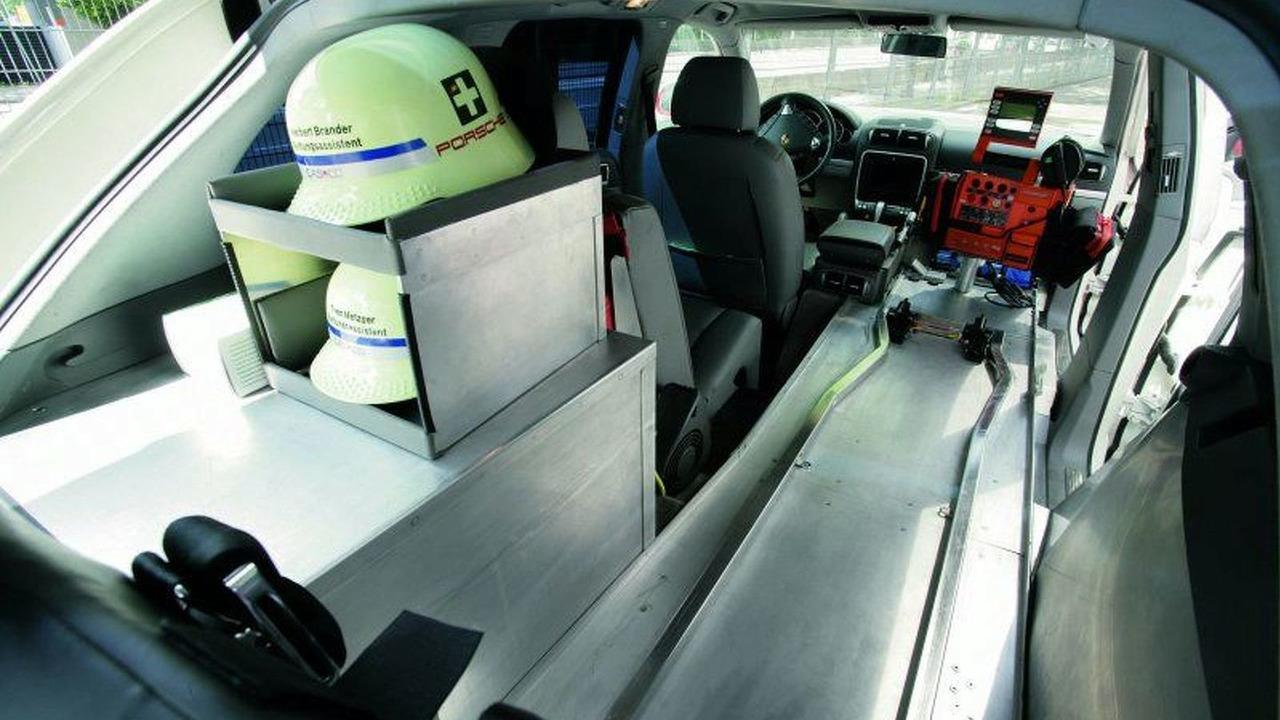 Porsche Cayenne Ambulance