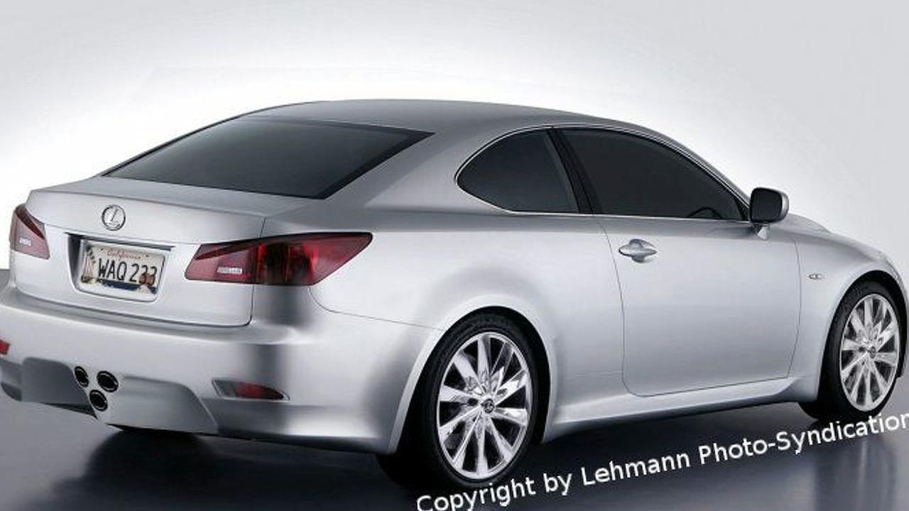 Lexus IS 500 Coupe Artist Impression