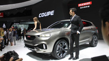 Haval unveils their stylish Coupe concept, gets 106.9 mpg