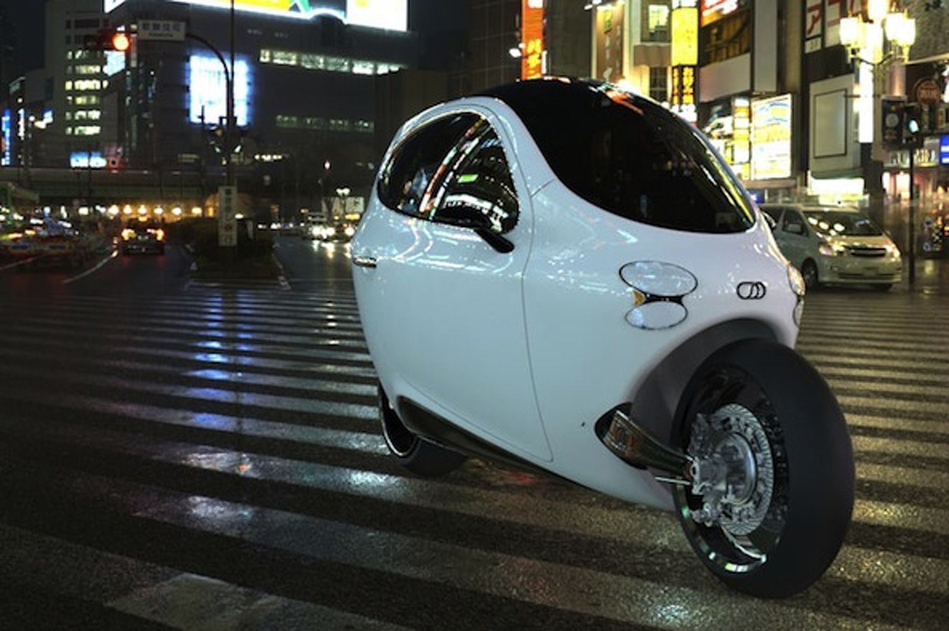 LIT Motors Envisions Their Gyro-Based City Car as the Future of Mobility