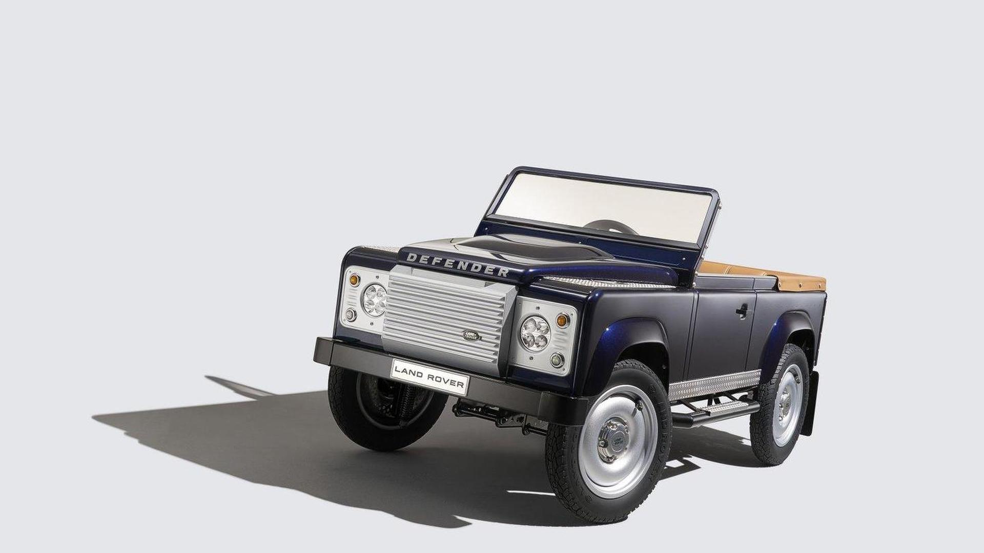 Land Rover Defender Pedal Car concept makes a surprise debut in Frankfurt