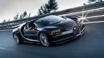 Bugatti Chiron roadster speculative render